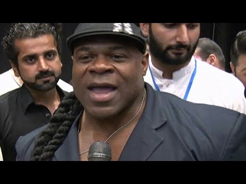 Kai Greene American Bodybuilder Exclusive Media Talk in Islamabad Pakistan