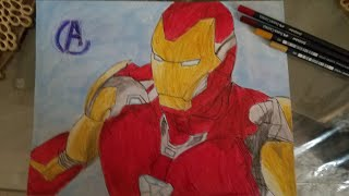 Let's Draw Iron Man Mark 85- Avengers Endgame-New Suit!!