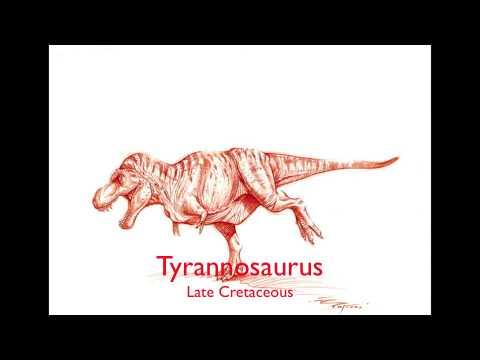 Tyrannosaurus sound effects