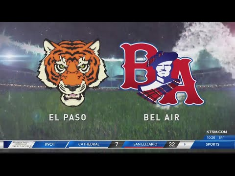 El Paso High Pulls Away From Bel Air