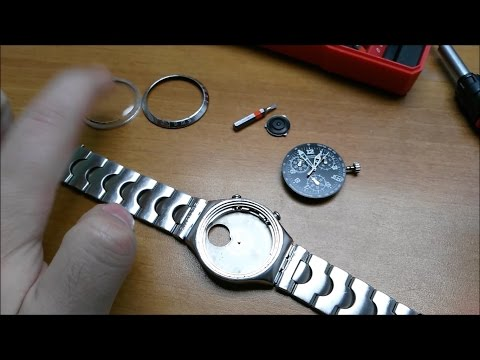 How To Disassemble And Repair A Swatch Irony