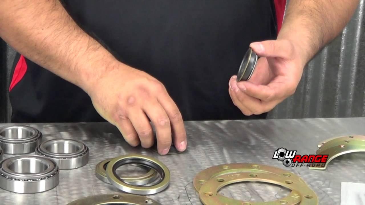 Ultimate Toyota Solid Axle Knuckle Rebuild Kit