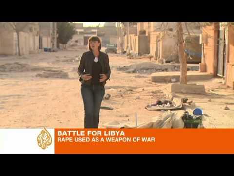 Rape used 'as a weapon' in Libya