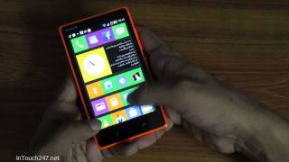 Nokia X2 after Update demo Live Wallpaper and Some...