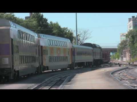 MBTA Commuter Rail Switching at Boston Engine Terminal