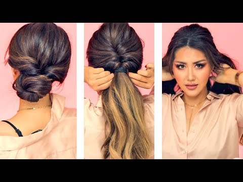 EVERYDAY HAIRSTYLES for WORK! EASY BRAIDS & UPDO for Long & Medium