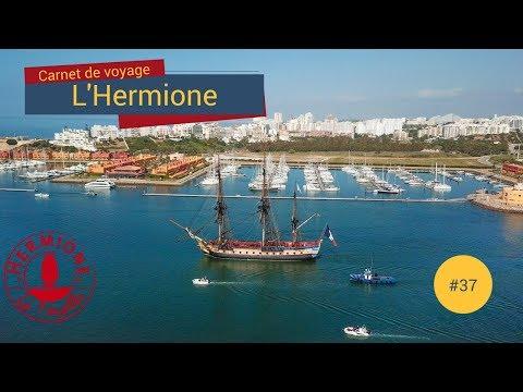 [Carnet de Voyage Hermione] # 37 - Départ de Portimão ! Adeus Portugal