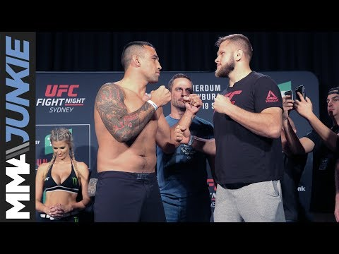 UFC Fight Night 121 weigh in highlights