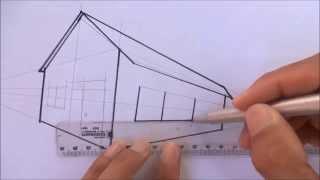 Como desenhar uma casa 3D