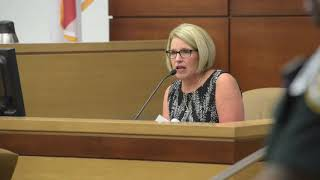 Sentencing of Lorie Ann Miller for her role in the death of Chris Reinert