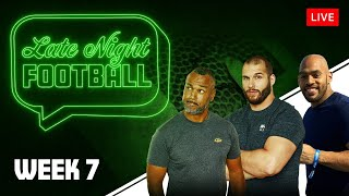 Late Night Football Week #7 mit Coach Esume, Björn Werner & Kasim Edebali
