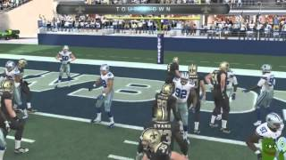 Madden 16 :: I Never Gave Up! ::-XBOX ONE Madden NFL 16 Online Gameplay Saints Vs. Cowboys