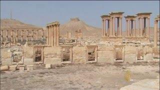 شركة فرنسية تسعى لإعادة إعمار موقع تدمر الأثري