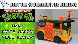 TMNT 1989 Party Wagon Review