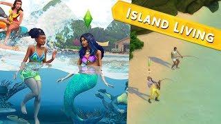 The Sims 4: Island Living - Pierwsza impreza