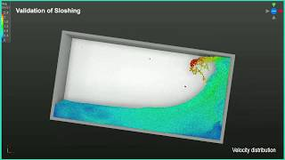 CFD SW E8IGHT Validation of Sloshing in NFLOW SPH