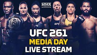 UFC 261: Usman vs. Masvidal 2 Media Day LIVE Stream - MMAFighting