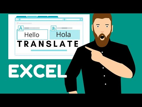 How To Use Language Translation Feature in Excel & Google Sheets   No VBA Required