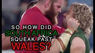 So how did South Africa squeak past Wales? | The Squidge Report