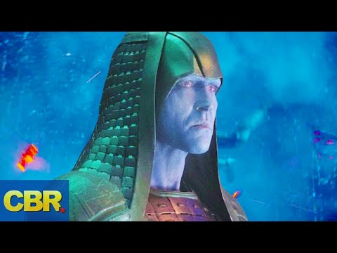 What Nobody Realized About Ronan The Accuser In Captain Marvel