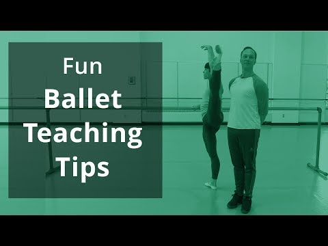 Ballet Teaching Tips, with Peter Boal