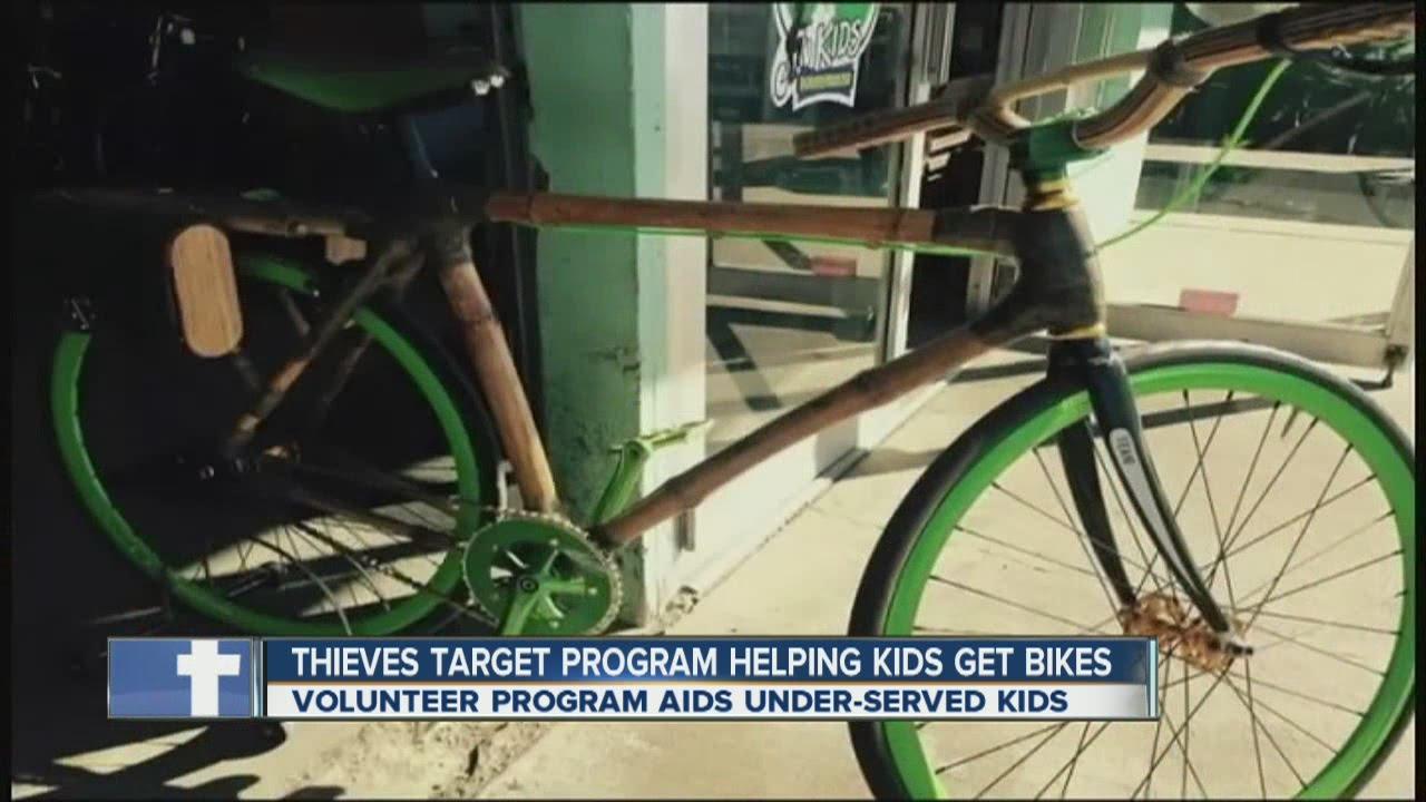 Thieves target Denver program helping kids get bikes