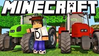 Minecraft - Industrial Craft: Novos Tratores