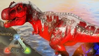 CONTRA 3 T-REX ALPHA A LA VEZ!! - ARK: Survival Evolved #55