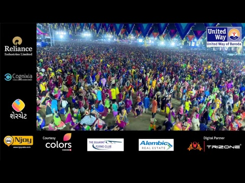 United Way Baroda - Garba Mahotsav By Atul Purohit - Day 4 - Live Stream
