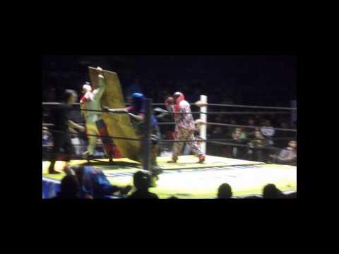 Psycho Circus vs Los Originales Payasos AAA RESUMEN Tijuana by DiibeR