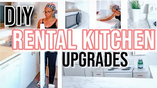Best DIY Marble Countertop TIPS 👌🏽| Rental Kitchen Makeover Ideas 💡| Pt.1