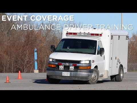 Event coverage | Ambulance driver training