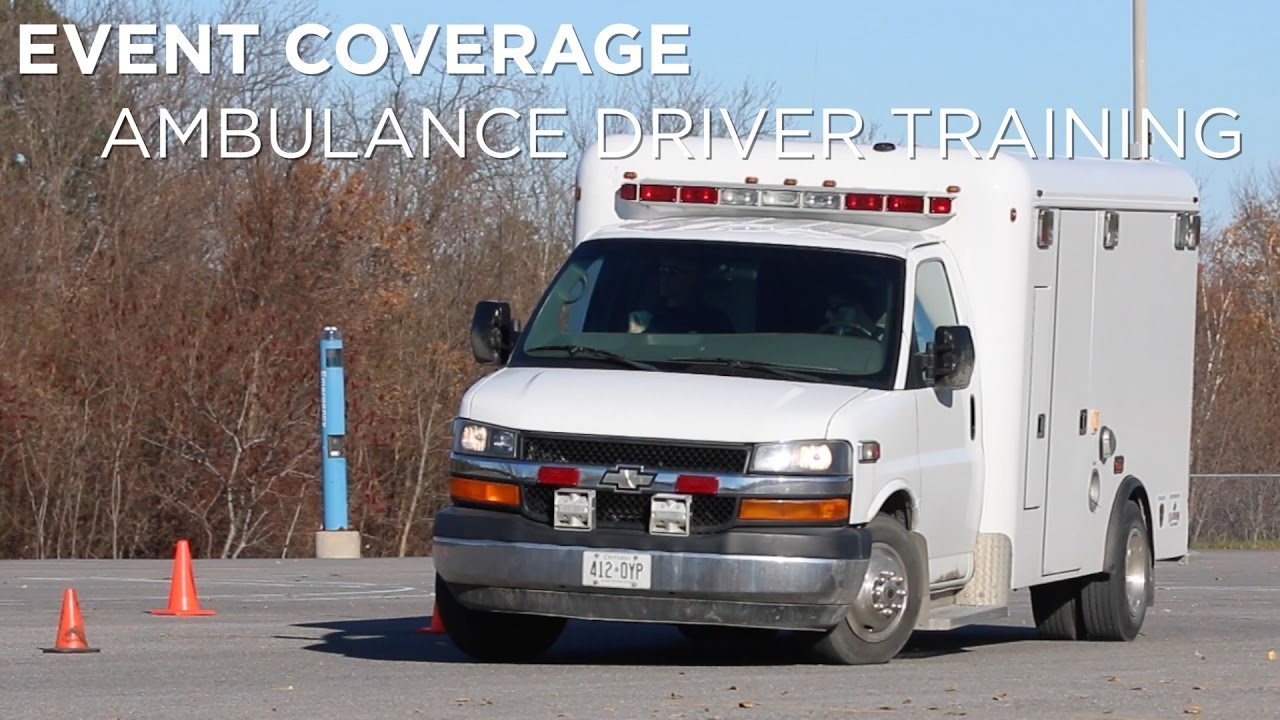 event coverage ambulance driver training event coverage ambulance driver training