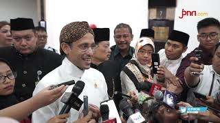 Pertama Kali Mendikbud Nadiem Makarim jadi Inspektur Upacara - JPNN.com