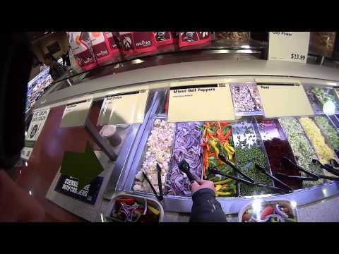 Easy Raw Meal With Quick Trip to Whole Foods Salad Bar 2015
