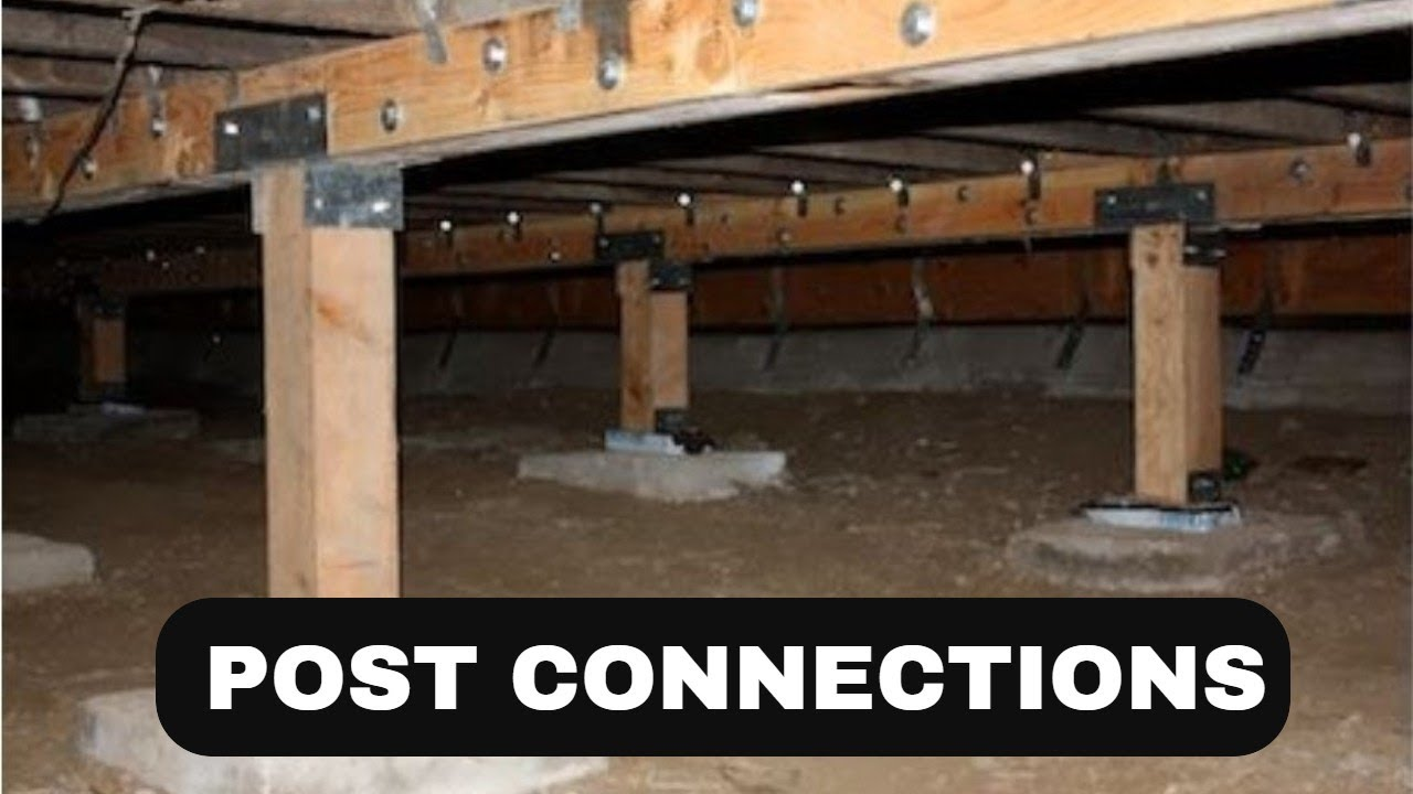 The Post to Beam Connection - Bay Area Retrofit
