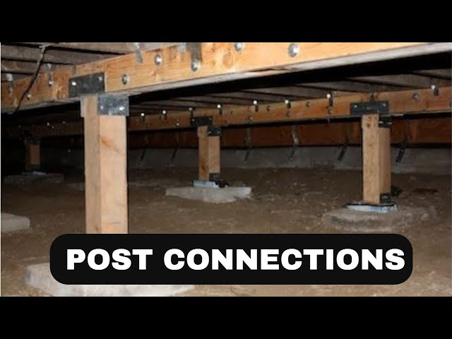 Retrofitting Post to Beam Connections