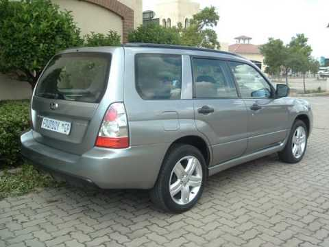 2007 Subaru Forester 25 Xt Auto For Sale On Auto Trader South