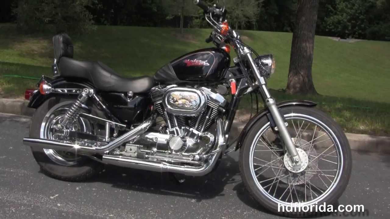 1997 harley davidson xl1200c sportster 1200 custom used motorcycles for sale youtube. Black Bedroom Furniture Sets. Home Design Ideas