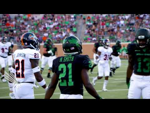 North Texas Football: UTSA vs North Texas - NT Highlights 10/14/17