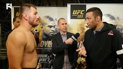 UFC 203 Post-Fight: Fabricio Werdum & Stipe Miocic Exchange Words Backstage; Talks Edmond Kick