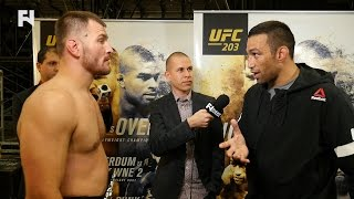 UFC 203 Post-Fight: Fabricio Werdum & Stipe Miocic Exchange Words Backstage; Talks Edmond Kick