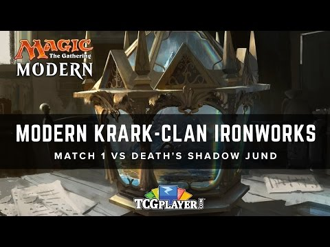 [MTG] Modern Krark-Clan Ironworks | Match 1 VS Death's Shadow Jund