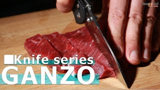 AWESOME GANZO FOLDING KNIFE with axis lock and pocket clips