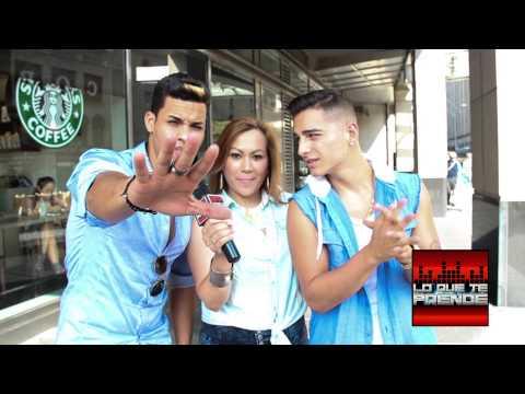 Entrevista con Maluma y Eli Palacios en NYC