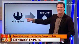RTVE confunde el símbolo de Alianza Rebelde (Star Wars) con Al Qaeda / ISIS / Daesh
