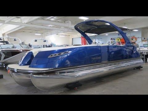 2018 Harris 250 CROWNE SL Pontoon Boat For Sale MarineMax Rogers Minnesota
