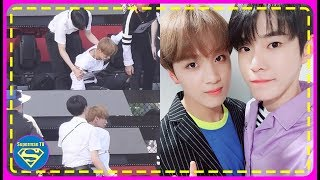 NCT Haechan Couldn't Keep His Balance During Rehearsal & It was a Lucky Thing Doyoung was..