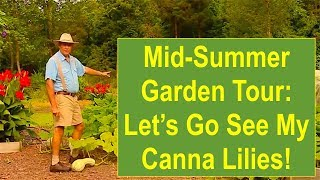 Mid-Summer Organic Garden Tour 2015:
