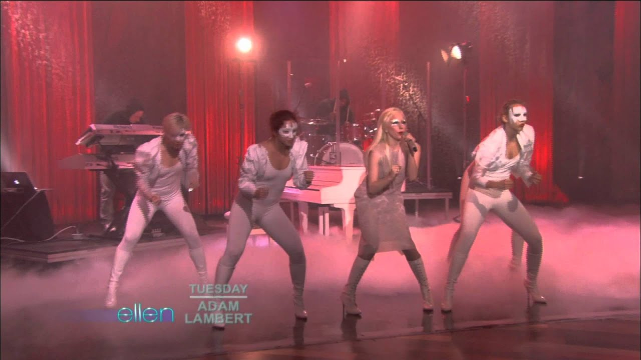Lady gaga bad romance live at the ellen degeneres show youtube - Ellen show live ...
